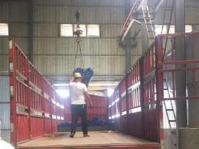 千王钎具32吨AAA钎杆发往昆明